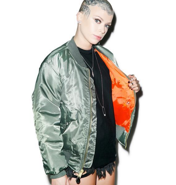 Danielle Guizio Bae Bomber Jacket