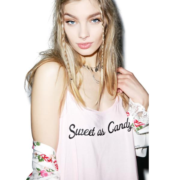 Wildfox Couture Sweet As Candy Cami Set