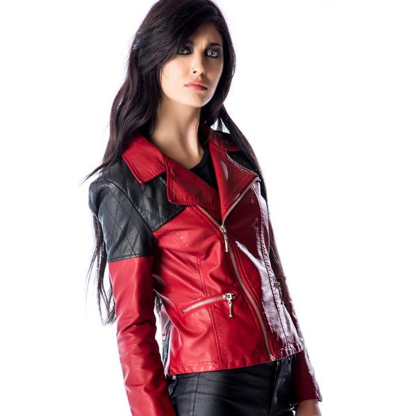 Kill City Moto Redux Biker Jacket