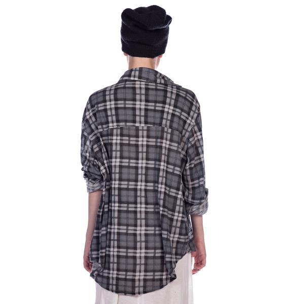 Wildfox Couture Cimitero Seattle Button Down Shirt