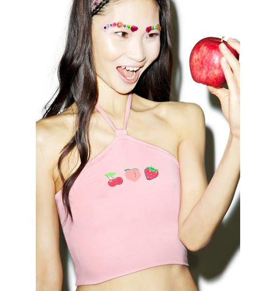 O Mighty Fruity Halter Top