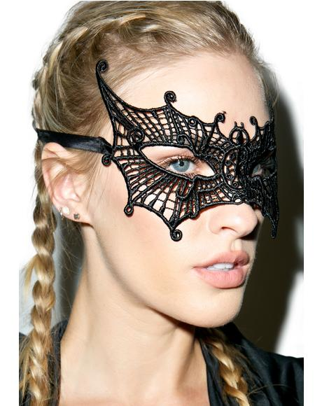 Batty Lace Masquerade Mask