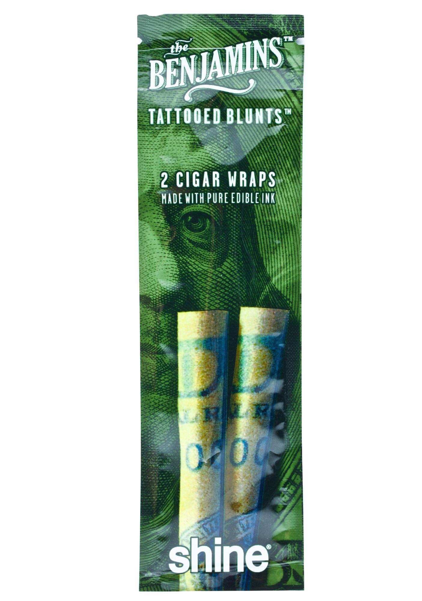 The Benjamins Blunt Wrap Pack