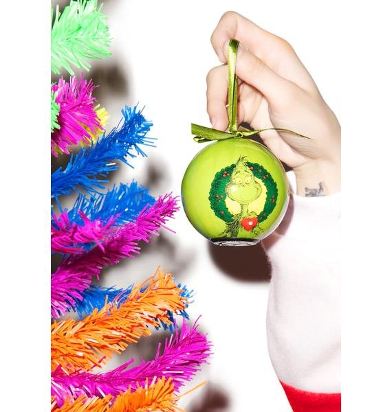 The Grinch Ball LED Ornament