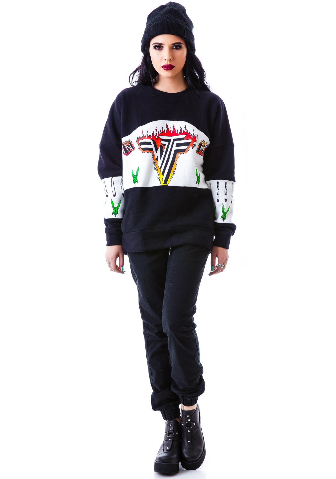 UNIF Inhalen Sweatshirt