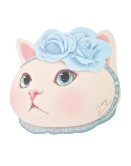 Blue Rose Choo Choo Mouse Pad