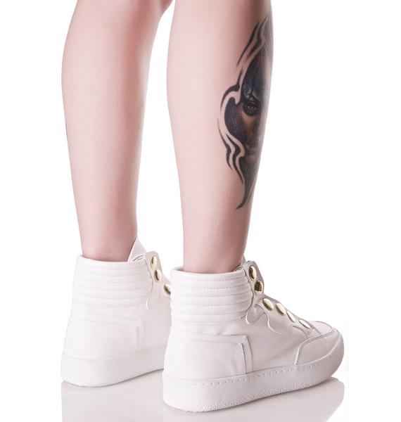 Lust For Life Roar High Top Sneakers