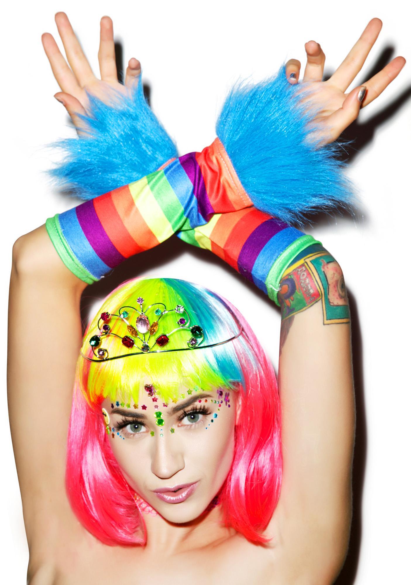 Rainbow Dash Glovettes