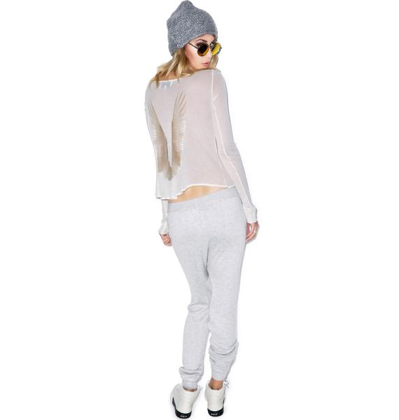 Wildfox Couture Heavenly Cassidy Long Sleeve