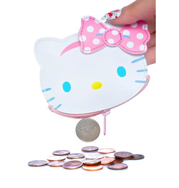Sanrio Hello Kitty Fresh Punch Coin Pouch