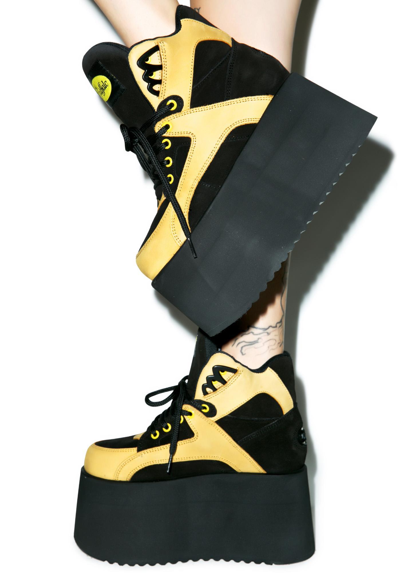 Buffalo X Dolls Kill Infrastructure Platform Sneakers