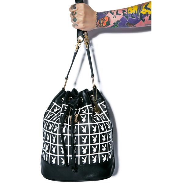 Joyrich X Playboy Panel Bucket Bag
