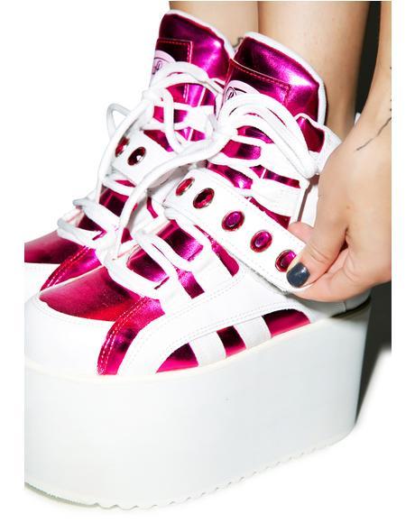 BB Spice Pink Platforms