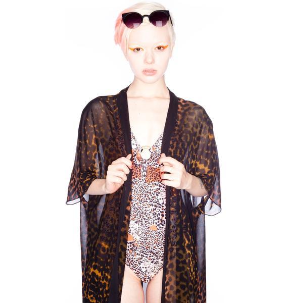 One Teaspoon Decadent Chiffon Kimono