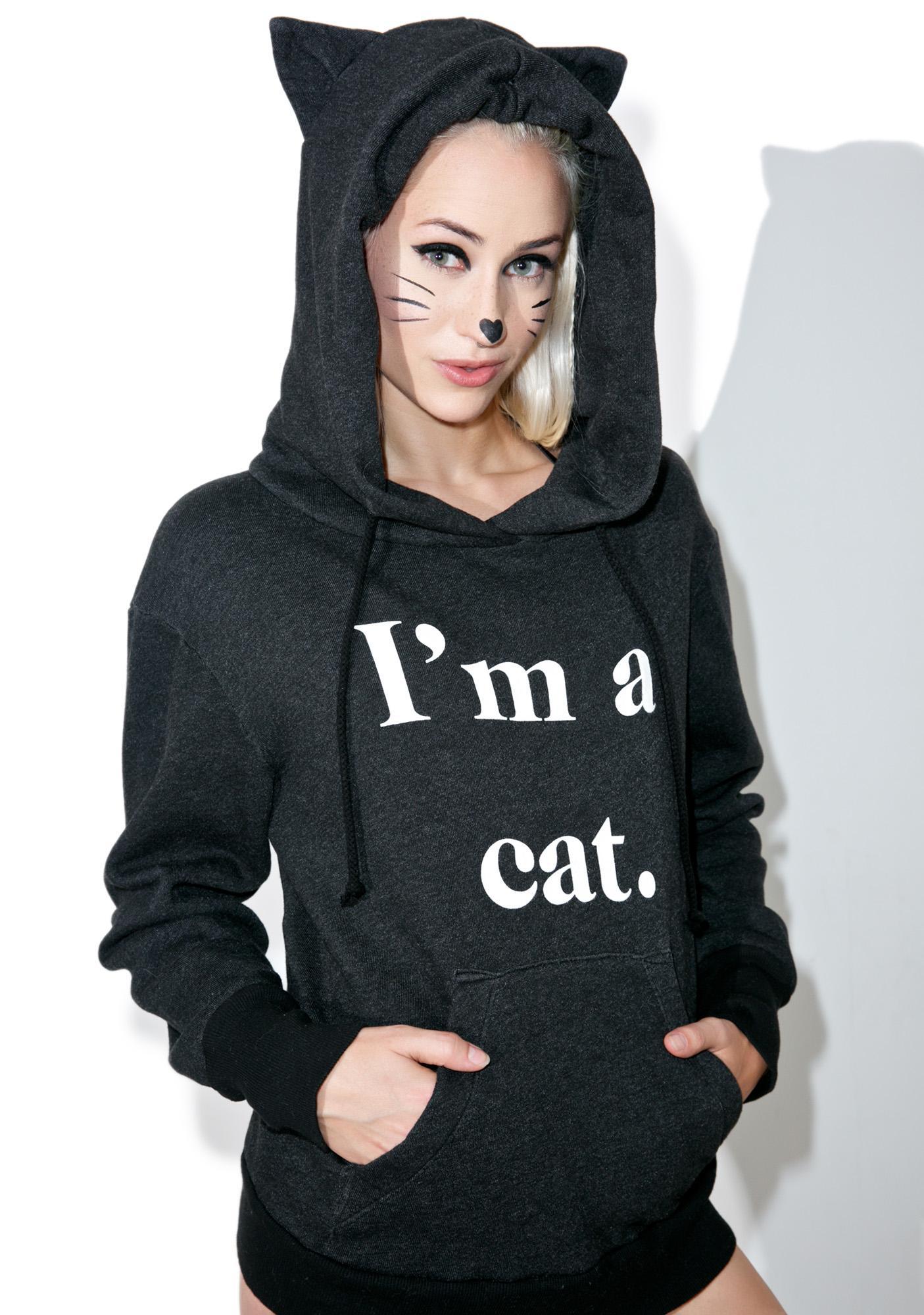 Kitten hoodie