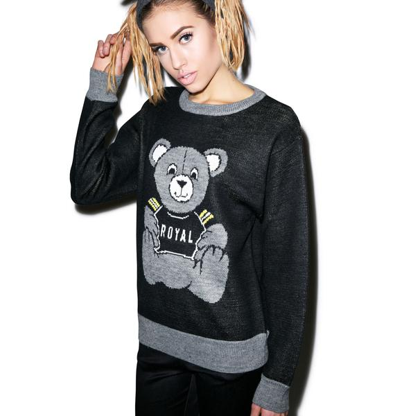 Joyrich Royal Bear Knit Sweater