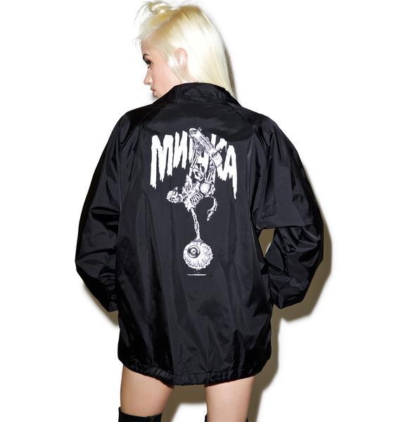 Mishka Lamour Cyco Handplant Coaches Jacket