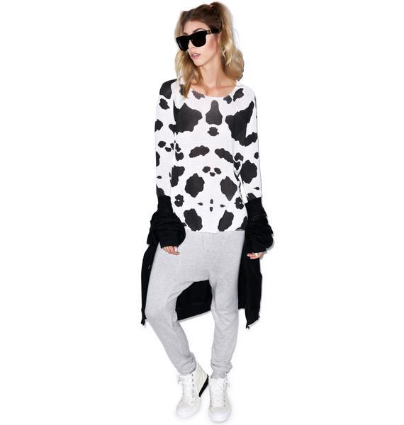 Wildfox Couture Moo Cozy Raglan