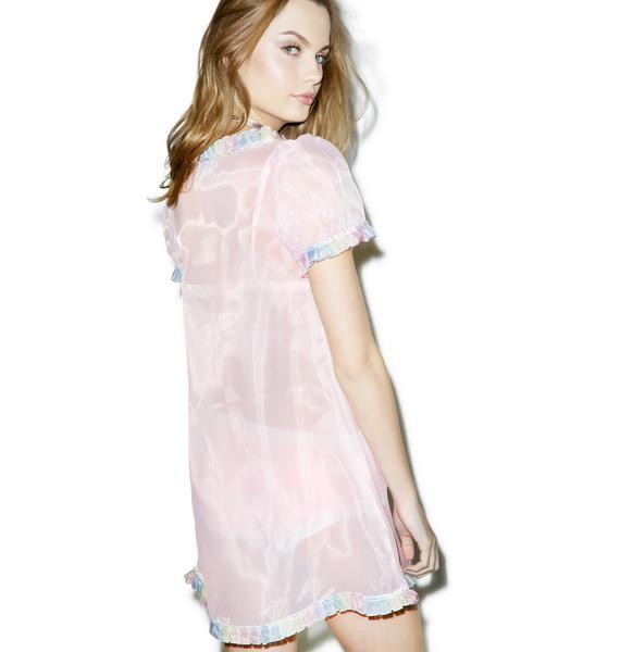 Melonhopper Life Is But A Dream Sheer Dress
