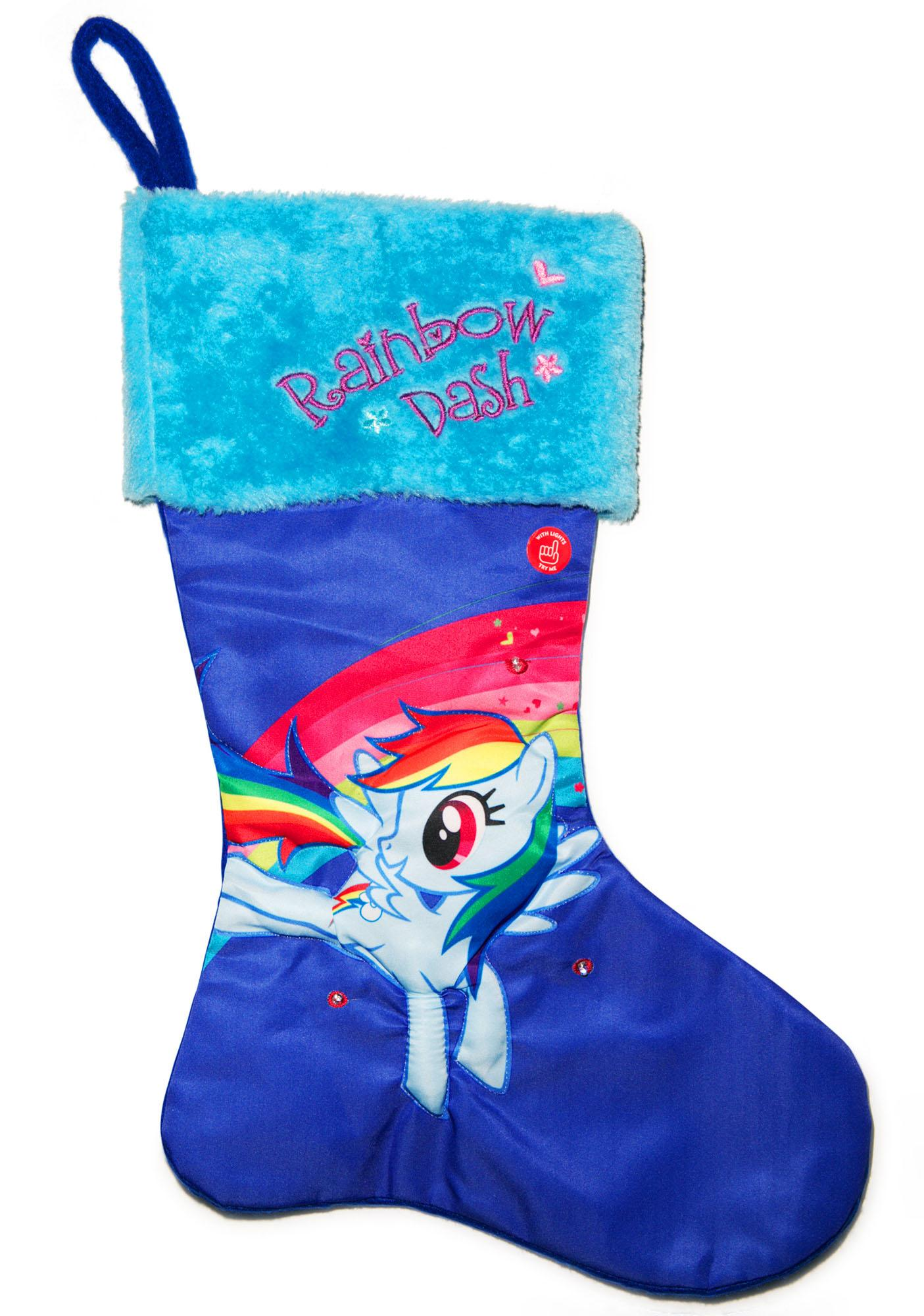Rainbow Dash LED Stocking