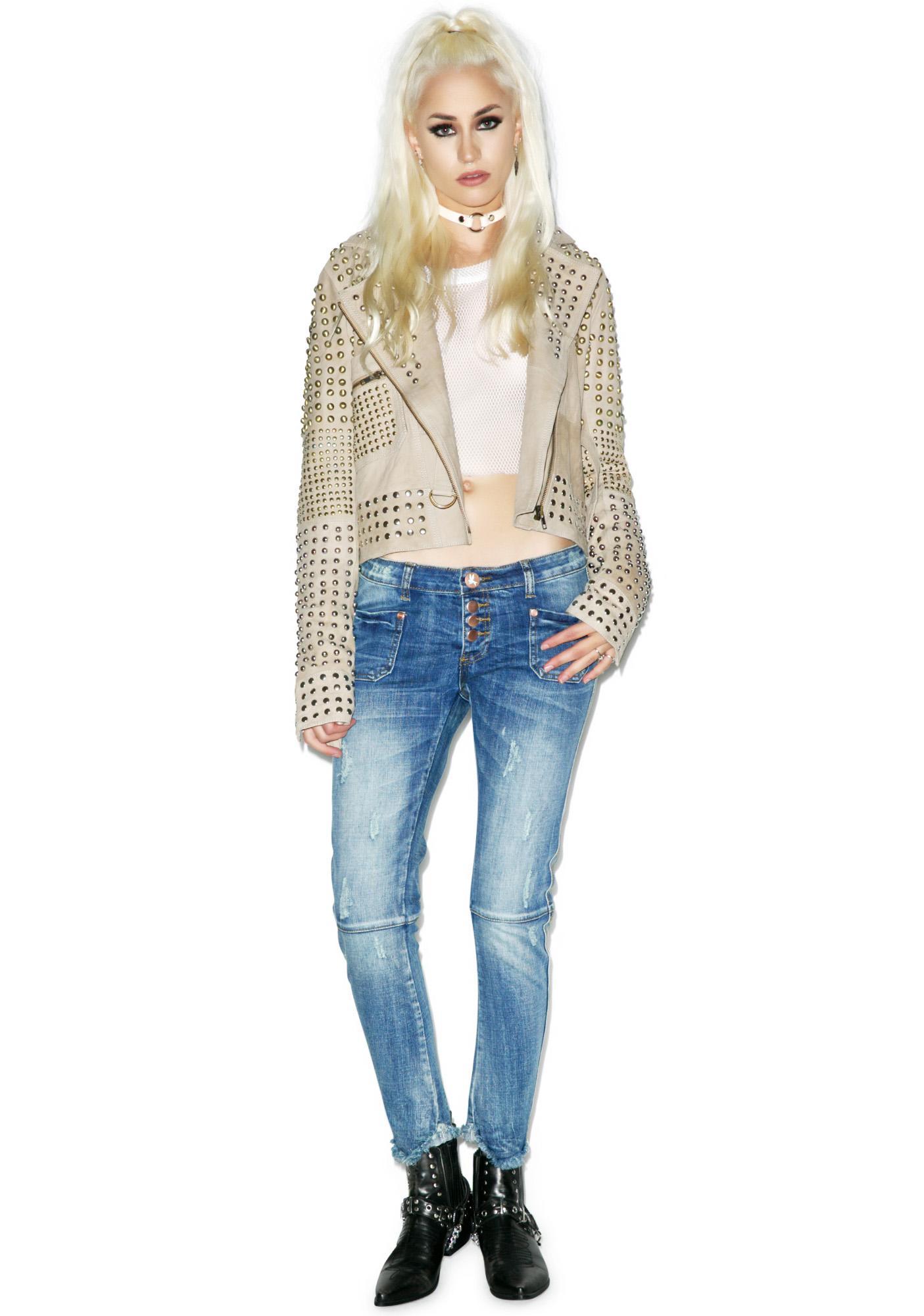 One Teaspoon Pure Bleu Super Duper Jeans