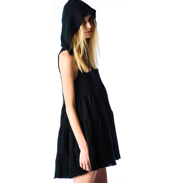 Lip Service Twilight Hooded Sweater Dress