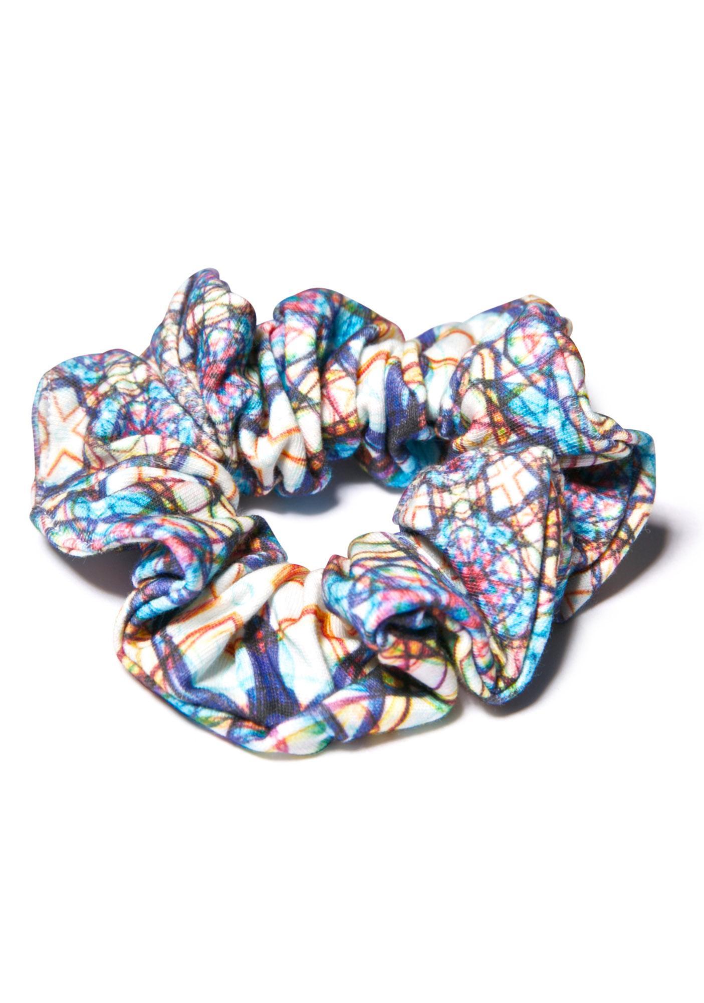 Mandala Scrunchie
