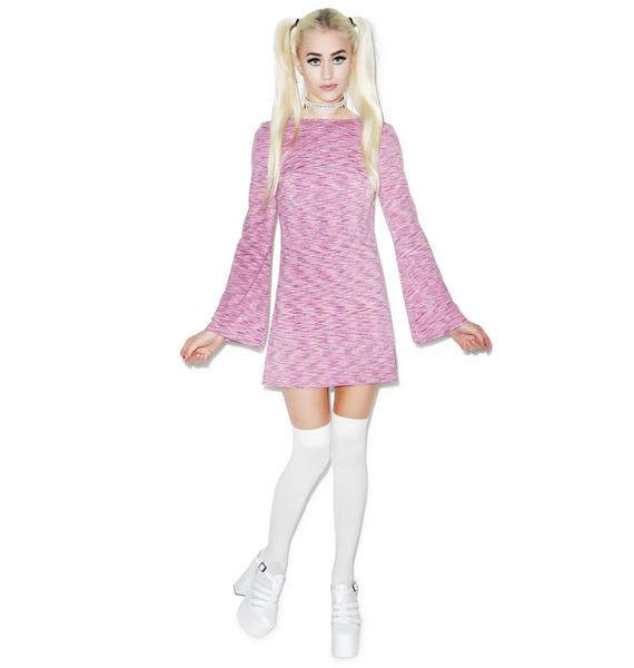 Motel Damitri 70s Noise Dress