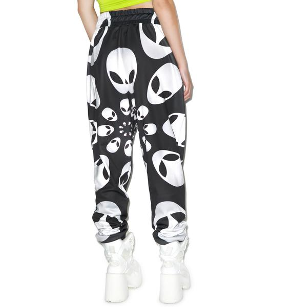 Alien Head Sweatpants
