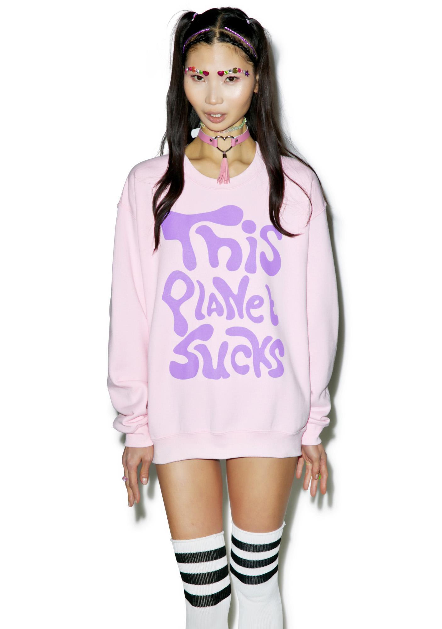 Bone Idol Take Me Away Oversized Sweatshirt