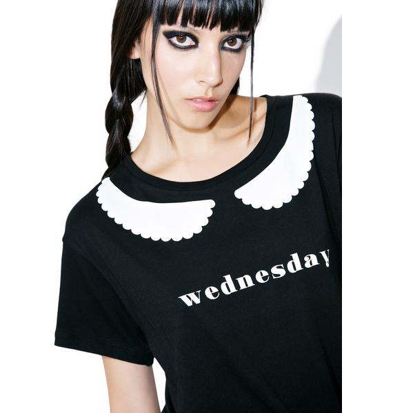 Wildfox Couture I'm Wednesday Manchester Tee