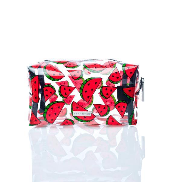 Skinnydip Watermelon Makeup Bag