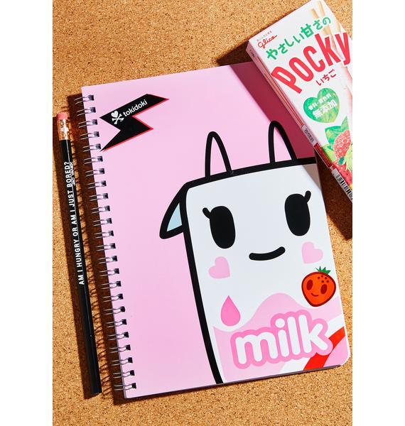 Tokidoki Strawberry Milk Notebook
