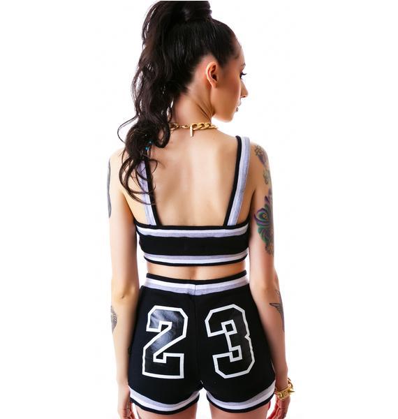 MJ's 23 High Waisted Baller Shorts