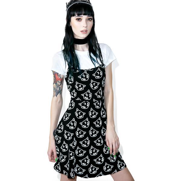 Killstar Purr Grunge Skater Dress