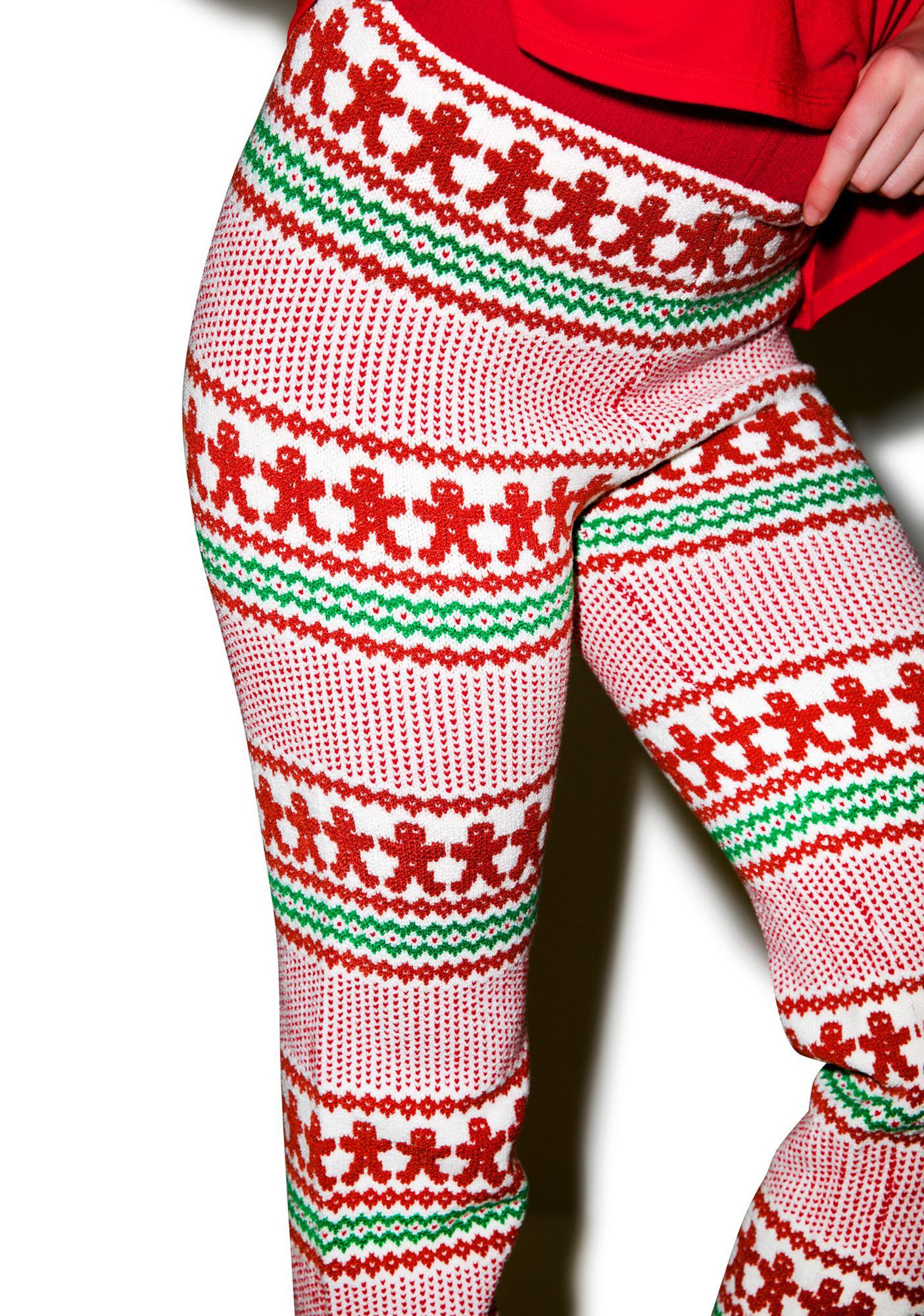 Knitty Kitty Gingerbread Pants