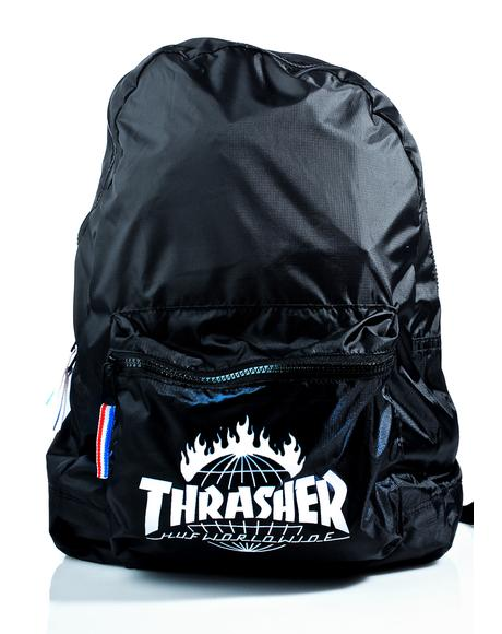 X Thrasher Tour De Stoops Packable Backpack