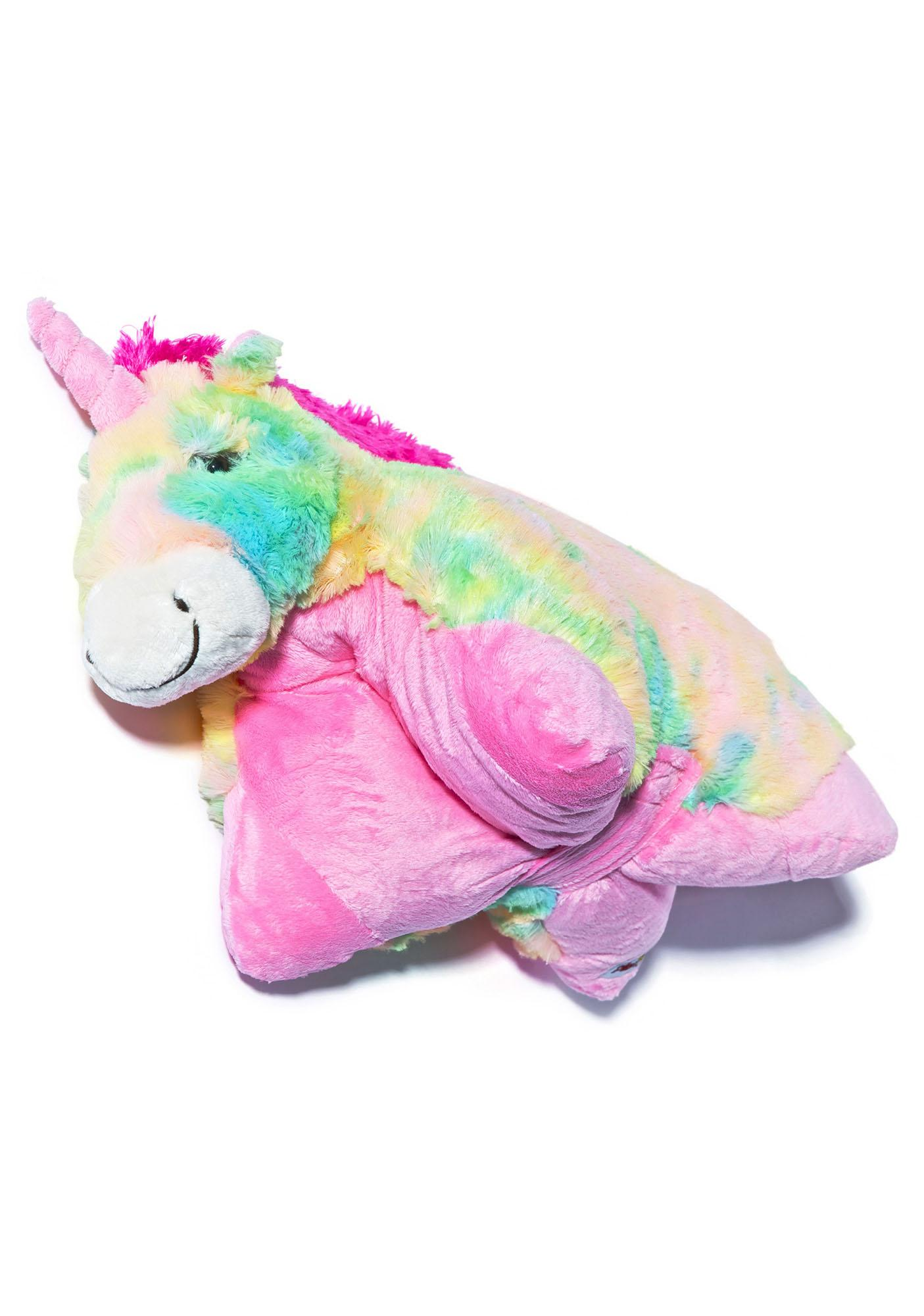 Pillow Pets Rainbow Unicorn Pillow | Dolls Kill