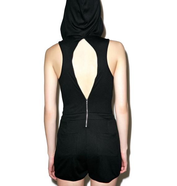 Farewell Hooded Romper