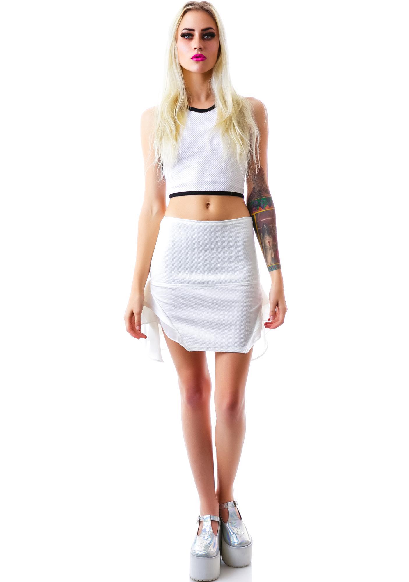 I'm So Fancy Peplum Skirt