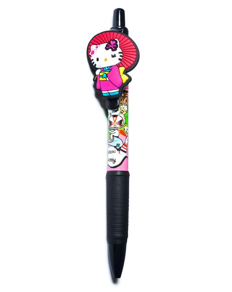 x Hello Kitty Kimono Pen