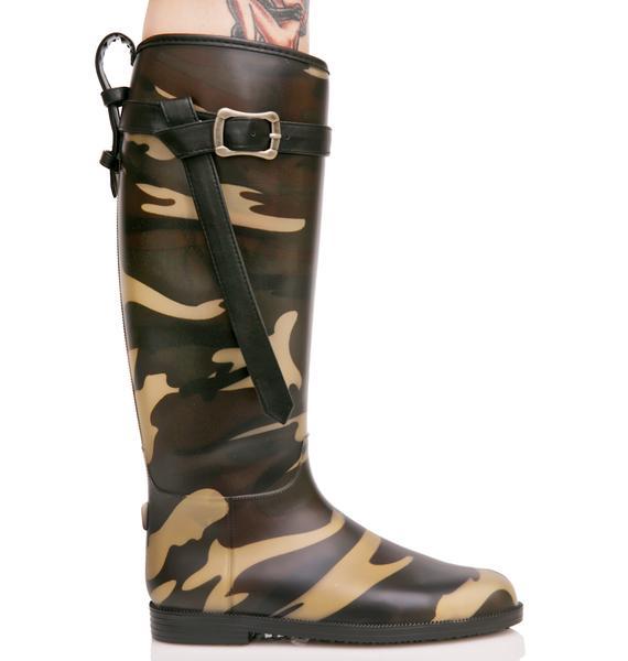 Hydroplane Rain Boots