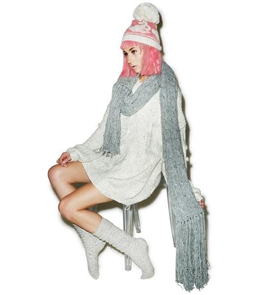 Wildfox Couture Blanket At Brunch Scarf