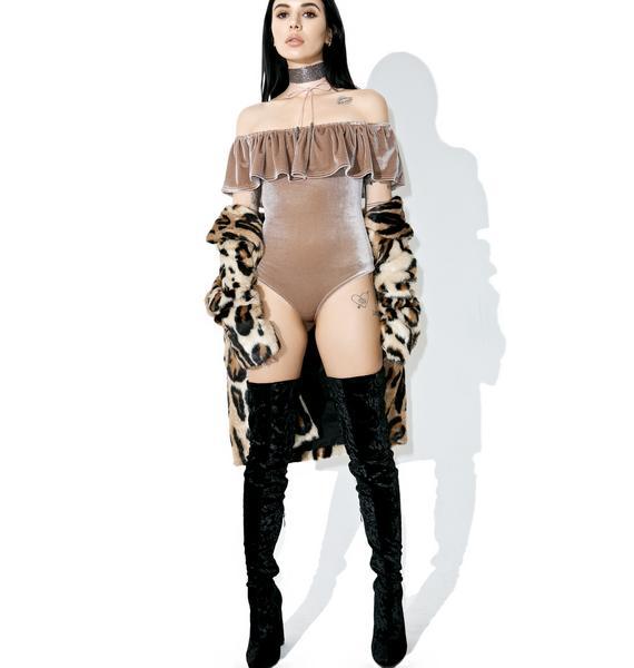 Balsa Off-Shoulder Bodysuit