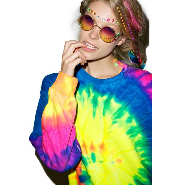 Neon Eternity Sweatshirt
