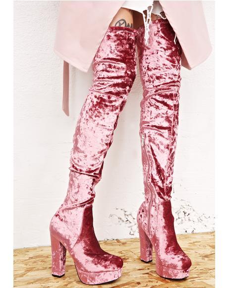 Elle Thigh-High Boots