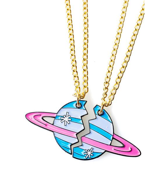 Band of Weirdos On Another Planet Bestie Necklaces