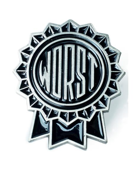 The Worst Enamel Pin