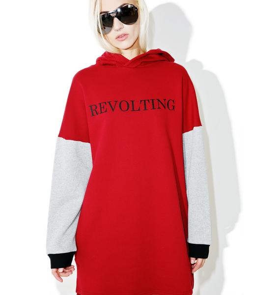 The Ragged Priest Rebel Hoodie
