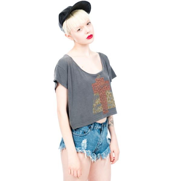 Civil Clothing Tri Faith Crop Top